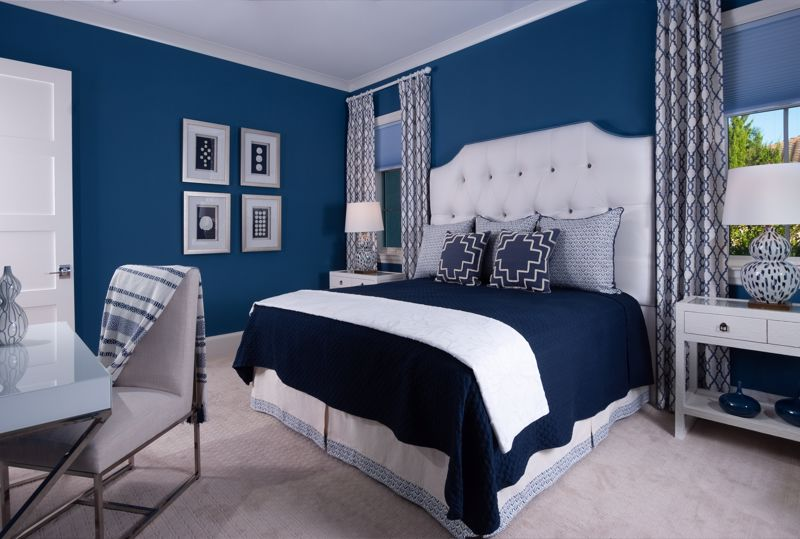 Blue is a classic color that isn't going anywhere.