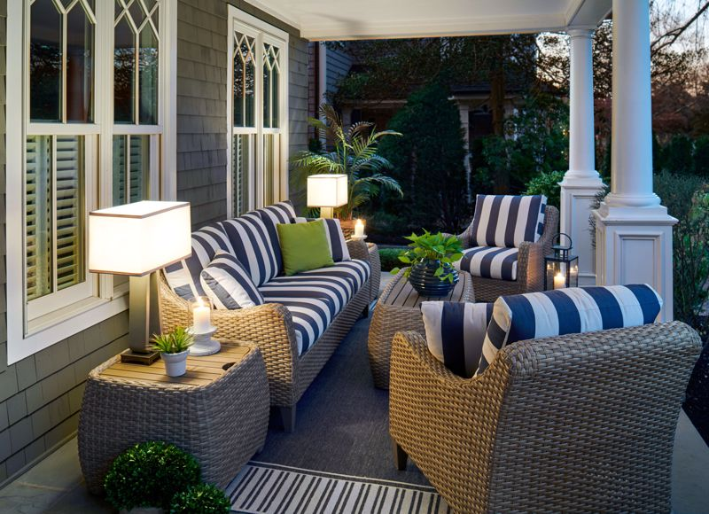 Create a space for guests to gather.