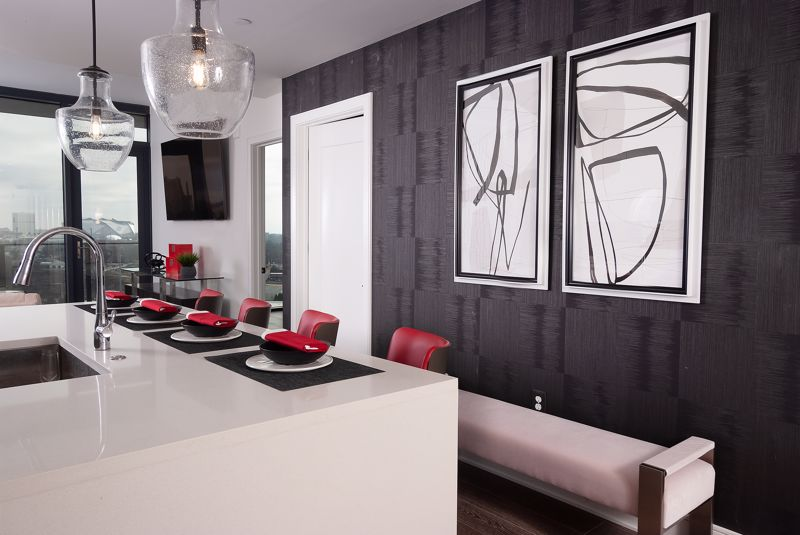 Black wall art and decor can dress up your vertical space effortlessly.