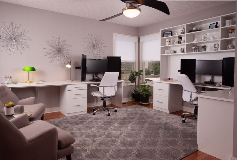 A personal decorator can help you find the perfect accessories for your home office.