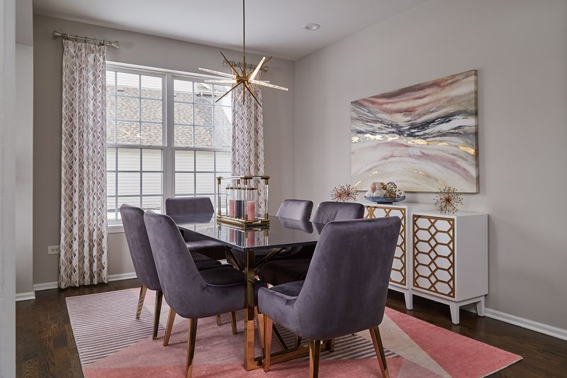 A light fixture upgrade can add a new sense of style to the space.