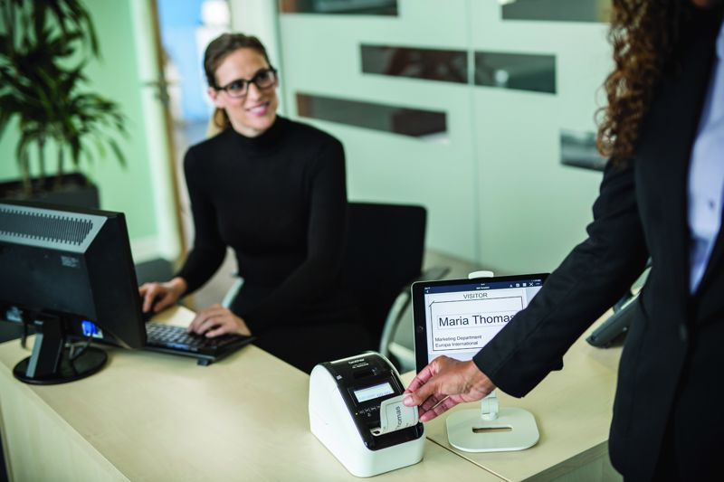 A visitor management solution that gathers and stores relevant information in a secure database in real-time enforces security.